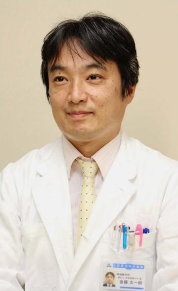 ごとう・たいちろうさん 慶応大医学部卒。米国留学を経て、2011年から同大医学部呼吸器外科学助教、13年同講師。14年から県立中央病院。医学博士、呼吸器外科専門医、日本移植学会移植認定医、日本肺がん学会評議員。東京都出身。