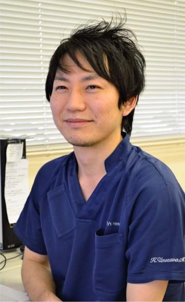 うめざわ・かずやさん 2009年昭和大医学部卒。11年同大形成外科入局。群馬・前橋赤十字病院、福岡・聖マリア病院などを経て、16年から県立中央病院。日本形成外科学会専門医。茨城県出身。