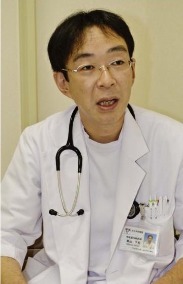 ひしやま・せんすけさん 2000年山梨医大(現山梨大医学部)卒。同大第2内科に入局。県立中央病院、加納岩総合病院などを経て、12年7月から市立甲府病院。14年から呼吸器内科科長、16年から睡眠時無呼吸センター長を兼任。日本呼吸器学会専門医。日本睡眠学会など所属。甲府市出身。