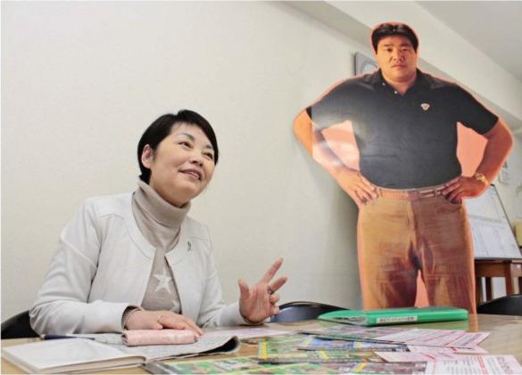 「ジャンボ鶴田さんとの交流が生まれたことで活動が全国区になった」と話すNPO法人日本移植支援協会理事長の高橋和子=東京都渋谷区