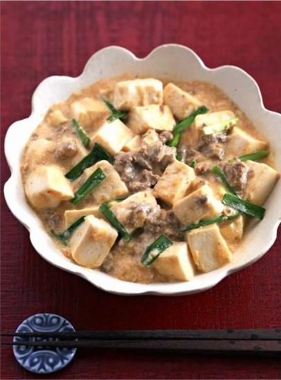 ミルクマーボー豆腐