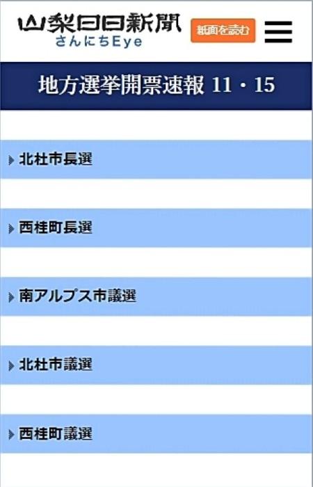 市長 選挙 上野原 上野原市長選挙投票・開票速報について(令和3年2月21日執行上野原市長選挙)