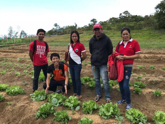 圃場での初収穫の日