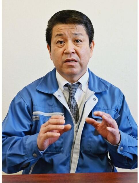 小田博(こだ・ひろし)氏 上野原市出身。上野原高卒。1991年にエクオス前身の部品製造会社「コダ電子」を立ち上げた。54歳