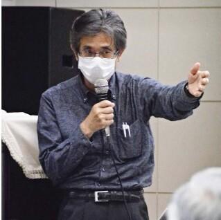 山梨平和ミュージアムが開いたリニア中央新幹線に関する講演会=甲府・県男女共同参画推進センター