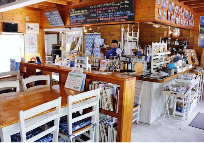 子連れも気軽に利用できる「cafe Blue Blanc」