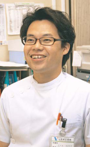 でぐち・のぶひろさん 2002年山梨医科大(現山梨大医学部)卒。同大皮膚科に入局。県立中央病院、国立千葉医療センターを経て、10年から山梨厚生病院。日本皮膚科学会専門医。和歌山県出身。