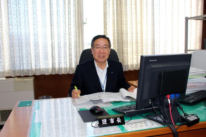 「足元を見れば先を見通す力が付く」と語る廣瀬正文さん。2012年に理事長に就任し、14年、16年に再任された