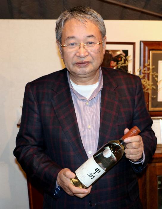 「甲州種ワインがヨーロッパ市場で一般的なワインになりつつある」と話す中央葡萄酒の三沢茂計社長