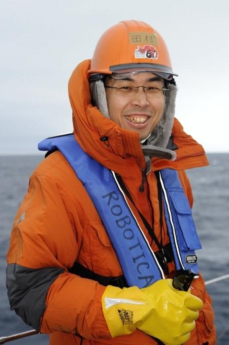 融解が懸念されるトッテン氷河観測の責任者を務めた国立極地研究所准教授の田村岳史(たむら・たけし)さん