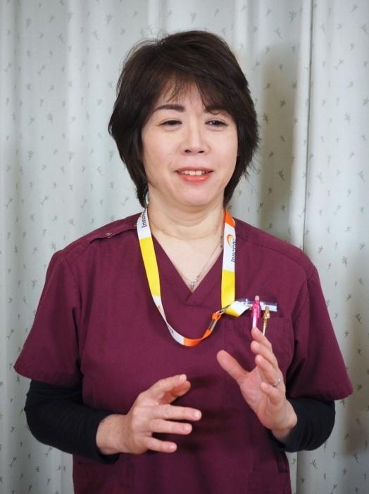 認知症治療研究会の代表世話人に就任した松崎一代(まつざき・かずよ)さん