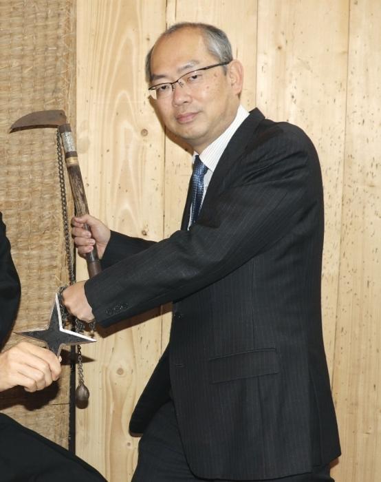忍者研究の第一人者で専門書を編集した三重大教授の山田雄司(やまだ・ゆうじ)さん