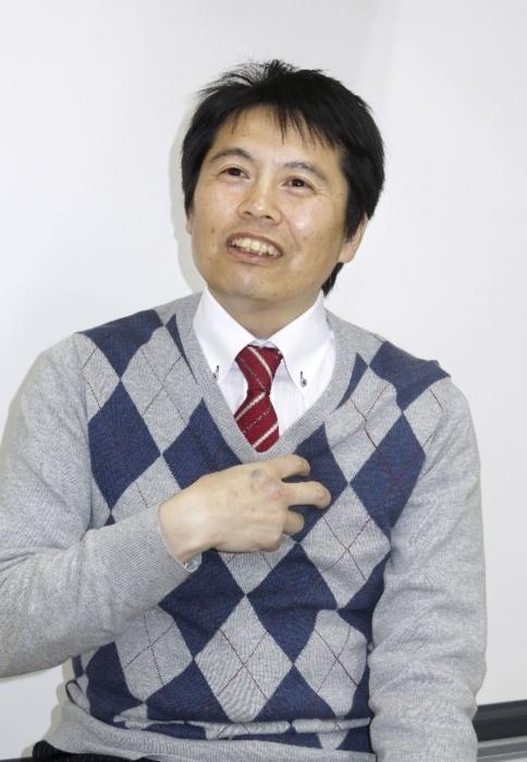 英仏の「百年戦争」を執筆した秋田大准教授の佐藤猛(さとう・たけし)さん