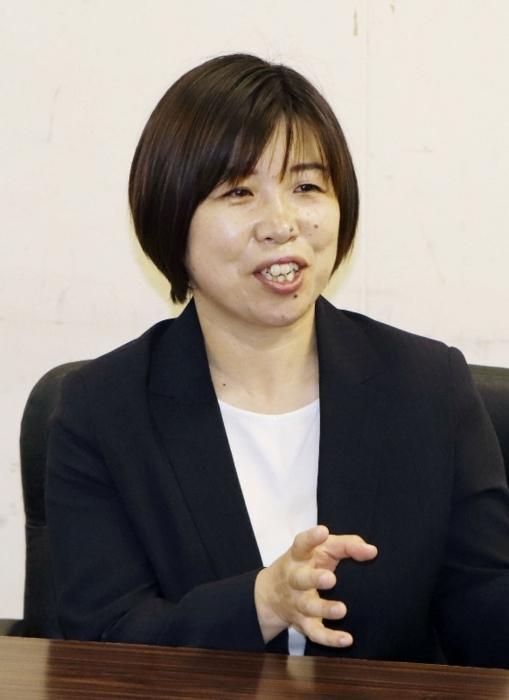 就職氷河期世代採用で、千葉県鎌ケ谷市の保育士職に採用された岩野奈美(いわの・なみ)さん