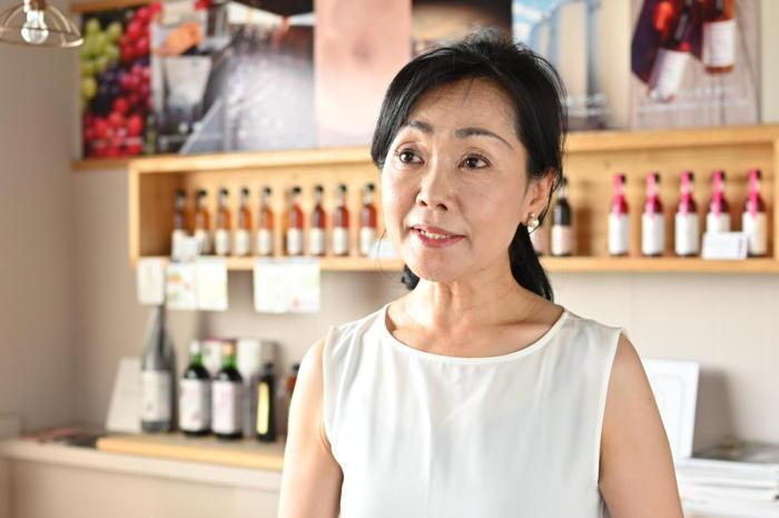 地元の方々と共存共栄をしながら高みを目指している杉山弘子さん