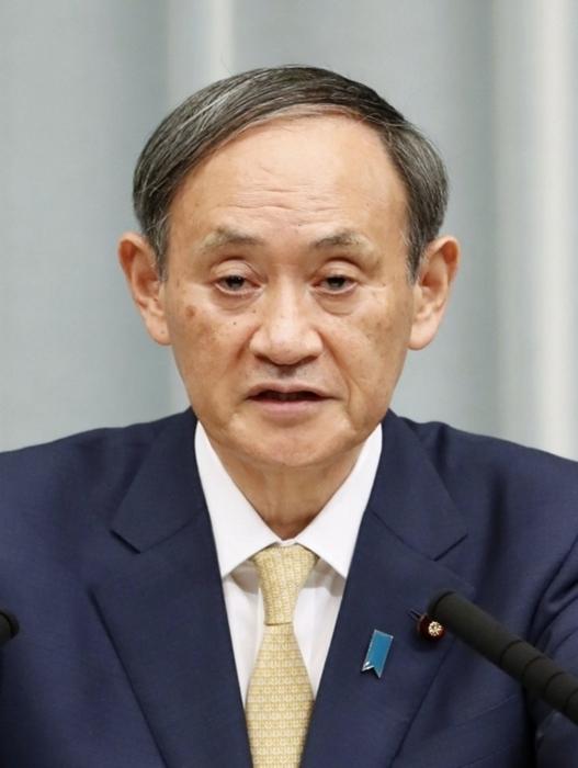 「俯瞰的な活動を求める観点から(除名を)判断した」と語った菅義偉首相