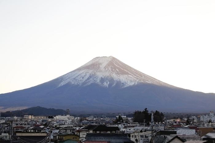 きょうの富士山(1月4日)