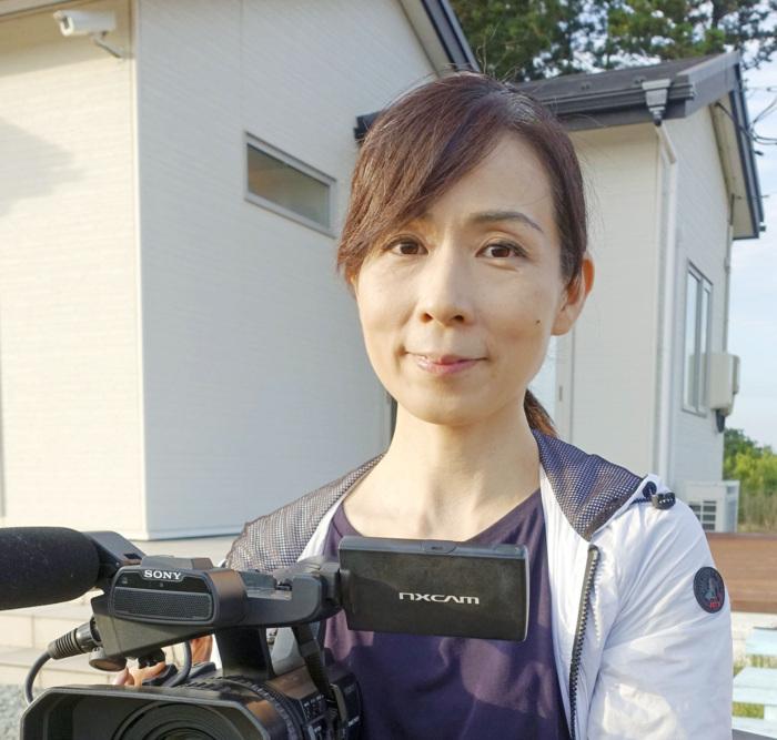 福島県の被災家族を追った映画を全国で上映するドキュメンタリー監督の笠井千晶(かさい・ちあき)さん