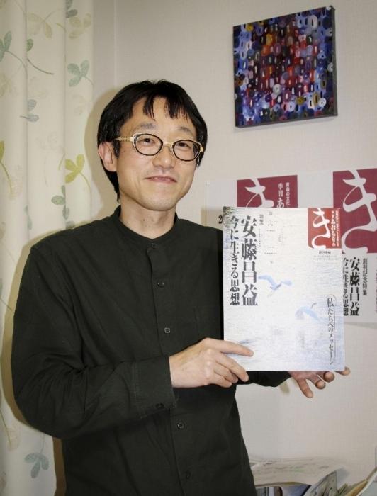 青森で40年愛されたタウン誌を復刊させた佐藤史隆(さとう・ふみたか)さん