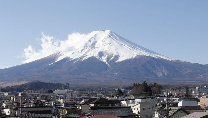 きょうの富士山(2月16日)