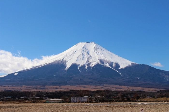 きょうの富士山(2月18日)