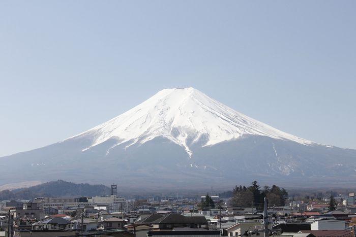 きょうの富士山(3月24日)
