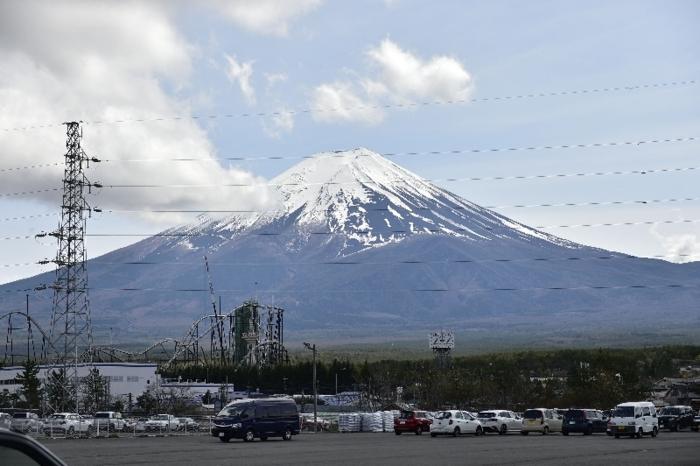 きょうの富士山(4月14日)