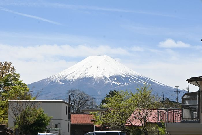 きょうの富士山(4月22日)