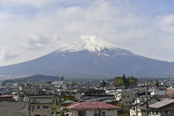 きょうの富士山(4月25日)