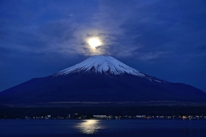 きょうの富士山(4月28日)