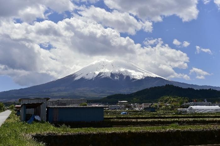 きょうの富士山(5月3日)