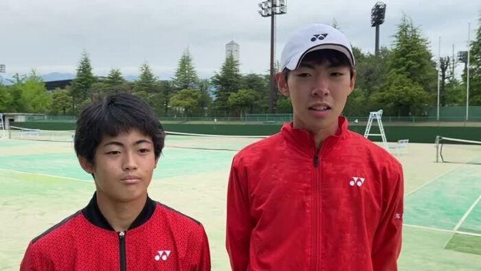 高橋直生さん(右)と小林聖也さん