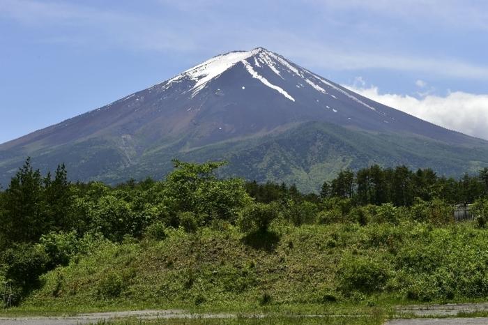 きょうの富士山(6月3日)