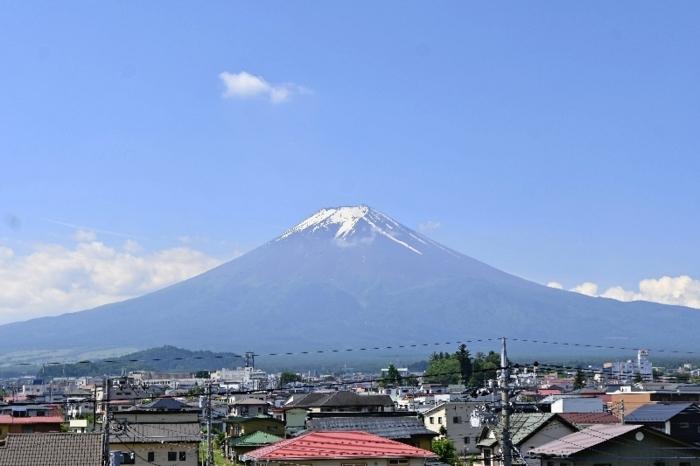 きょうの富士山(6月9日)