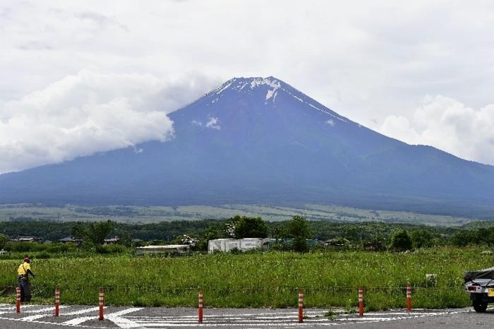きょうの富士山(6月21日)
