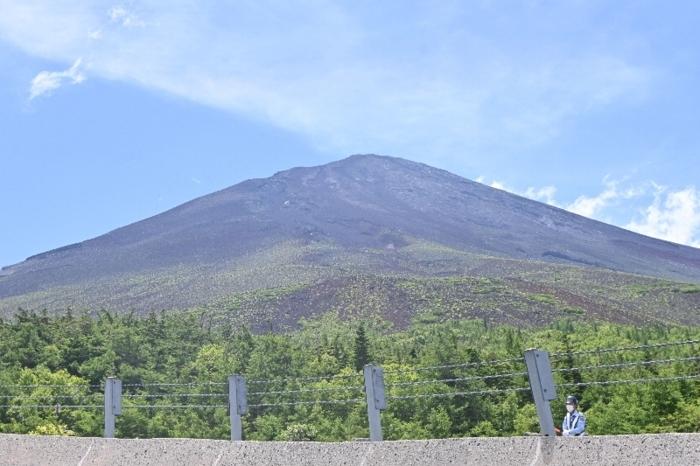 きょうの富士山(7月20日)