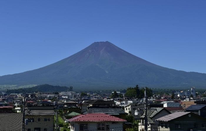 きょうの富士山(8月5日)