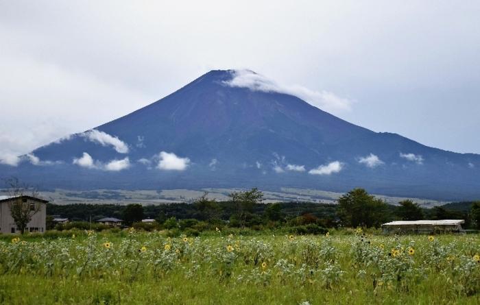 きょうの富士山(8月23日)