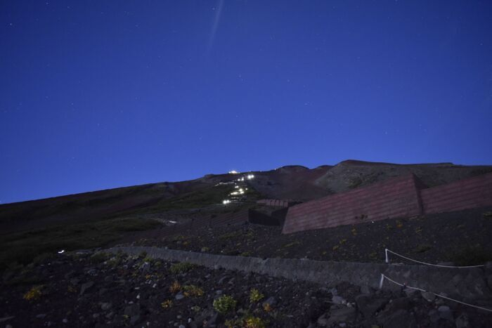きょうの富士山(8月28日)