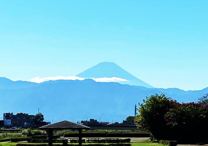 きょうの富士山(9月20日)