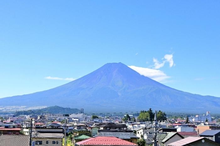きょうの富士山(9月21日)