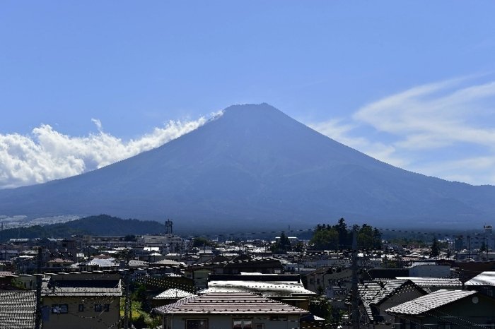 きょうの富士山(9月23日)